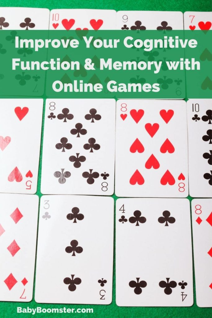 Online games for Baby Boomers