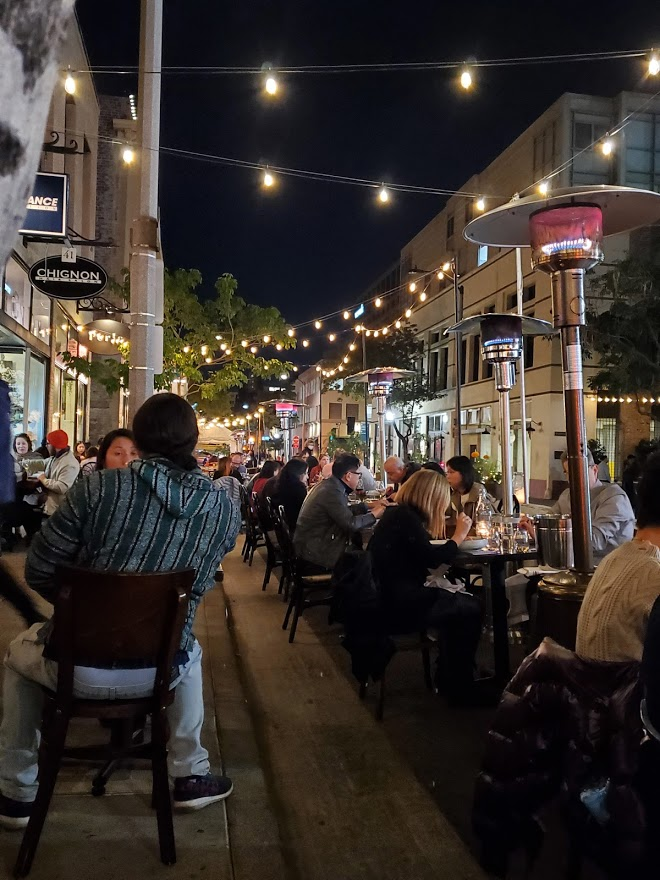Pasadena outdoor dining during the pandemic