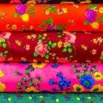 Calico fabric design