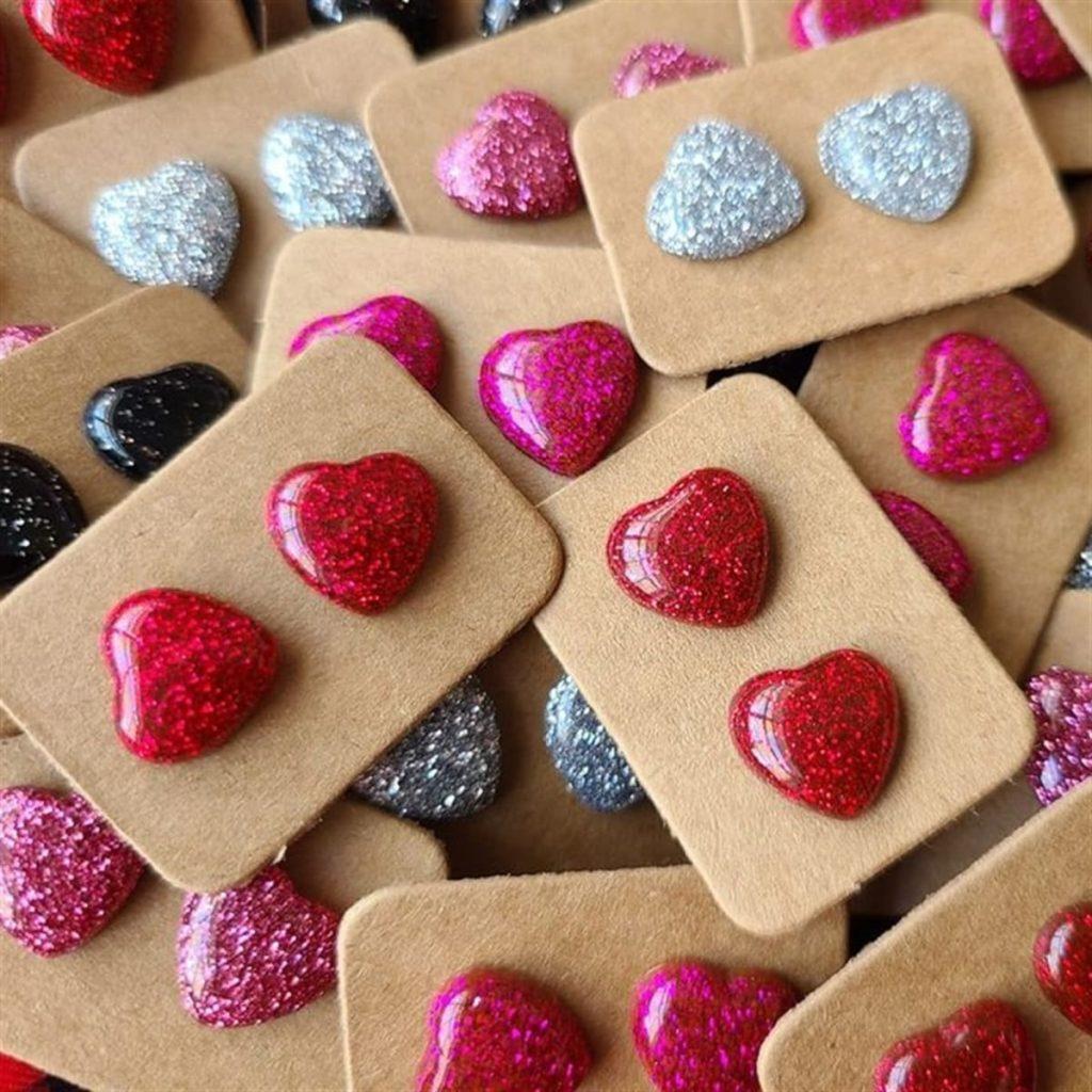 Valentine Stud Earrings on Jane.com
