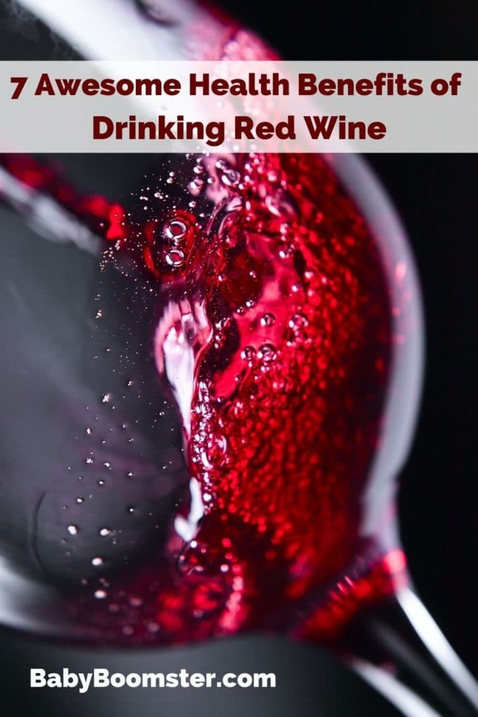 Benefits of drinking red wine