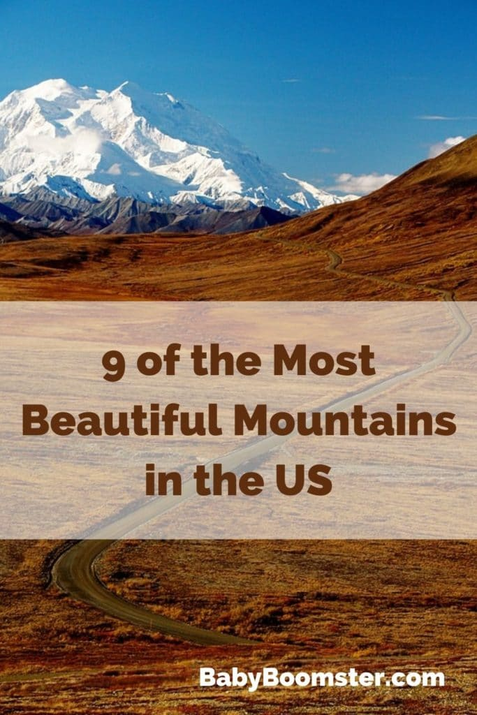 The US has some of the most beautiful mountains in the world.