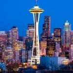 Seattle Space Needle and Downtown