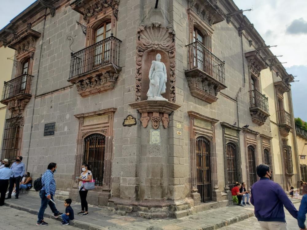 Home of Ignacio Allende in El Jardin