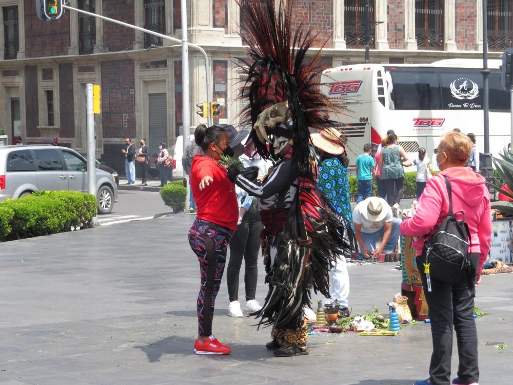 Aztec Spirit Cleansing Zócalo Square