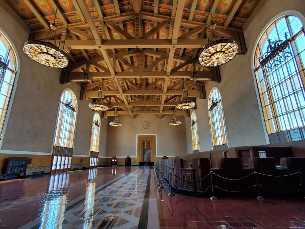 Old Ticket Lobby Union Station