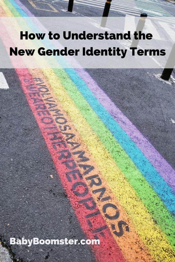 Understanding gender identity terms